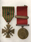 1910 Pre Wwi Usn Navy Good Conduct Medal Named Csc Numbered Engraved Uss Tingey