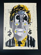 Bast Signed Limonata Hand Finished Screen Print Edition 45 Rare. Sent From Uk