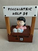 Westland Peanuts Dr. Lucy Item No. 18218 The Doctor Is In Bank