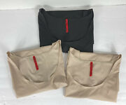 Lot 3 Spanx Tank Top Trust Your Thinstincts Beige Black Size 3x
