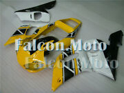 New Fairing Fit For 1998-2002 Yzf 600 R6 Yellow Black White Injection Mold Jad