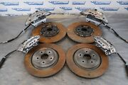 2020 Chevrolet Camaro Zl1 Lt4 Oem Brembo Brake Calipers And Rotors Scratches1357