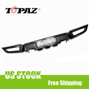 Front Lower Bumper Face Bar Raptor Style For 15-18 Ford F150 Heavy Duty Steel