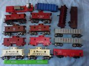 Vintage Train Car Lot Marx O Scale Pacemaker Nyc Lv 21913 Wecx 4571 Nh Caboose +