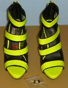 Red Kiss Queen Dream Yellow Platform Size 7 With 5 Heels