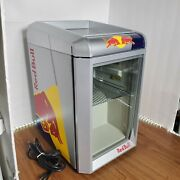 Red Bull Mini Countertop Refrigerator 115v/60hz Tested And Working
