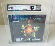 The Note. Vga Silver 85. Ultra Rare. Ps1 Game. New And Sealed Playstation One