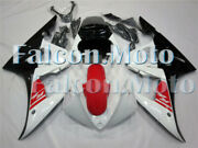 Injection White Red Black Fairing Fit For Yzf R6 03-05 R6s 06-09 Plastic Set Adl