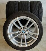 4 18 Inch Winter Rims And Tires Bmw Fits M2, M3, M4, M4 Cs Under 3,000 Miles Used