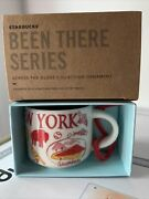 Starbucks Coffee Been There New York Ceramic Mug Ornament New With Box