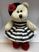 Starbucks 2013 Bearista Bear 110th Edition Alice And Olivia By Stacey Bendet W/tag
