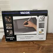 Wacom Intuos 3 Ptz 630 6x 8 Tablet With A Grip Pen And Mouse