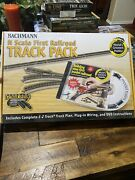 Bachmann World's Greatest Hobby N Scale First Railroad Track Pack 022899448961