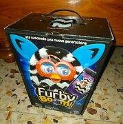 Furby Boom Interactive Electronic New Generation Is Hatching - Black White A4339