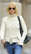 Celine Cable Knit Sweater Pre Fall 2011 Phoebe Philo Size M Great Condition