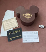 Disney's Whittnauer 80 Years Mickie And Minnie Limited Edition Of 50 Watch
