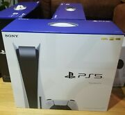 Sony Playstation 5 Console -ps5 Disc Edition--free Secure Sig Reqand039d Delivery💨🚚