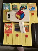 Fisher Price Classic Toys Retro Movie Viewer 1 Viewers And 7 Sesame St. Cassettes