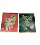 Notepad Cat Paper Sheets Prat And Austin Cute And Cuddly 5 X 7 Stationary Set 2