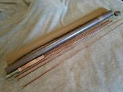 Vintage Granger Special Bamboo Fly Rod Gs8642 8 1/2 Foot, 4 1/2 Ounce With Tube