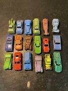 Collectible Vintage Tooties Toy Car Lot