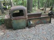 1940 Ford Pickup Truck Cab And Bedsides With Doors Rat Rod Hot Parts Project