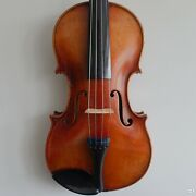 Anonymous Violin - 4/4 - Early 1900's - Red/orange Varnish W/ Shellac Finish - P