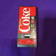 Coca Cola Vending Machine Transister Radio Tested And Works Good