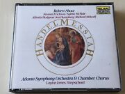 Shaw Handel Messiah Telarc Audiophile West Germany Full Silver No Barcode 2cd