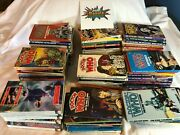 Lot Of 80+ Vintage Doctor Who Paperback Books Collection Sci-fi 70and039s-80and039s