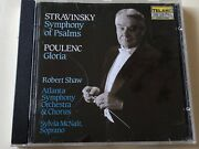Stravinsky Robert Shaw Telarc Audiophile West Germany Full Silver No Barcode