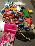 Junk Drawer - Toy Lot Over 3 Pounds Modern And Vintage Lots Of Thomas The Train