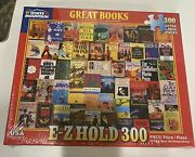 White Mountian Jigsaw Puzzle Great Books 300 Extra Large Pieces Ez Hold New