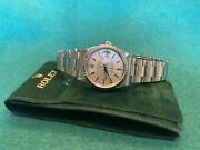 Rolex Datejust 16234 Silver Dial. Mens 36mm Automatic Watch Oyster Bracelet