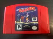 Rocket Robot On Wheels N64 Very Good Game Cartridge Only Tested Authentic