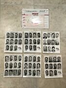 1992 Detroit Lions Team Press Photo Lot And Envelope From Green Bay Packers Office
