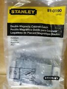 Box Lot 75 Units Stanley 81-0190/sp45, Magnetic Cabinet Catch, New.