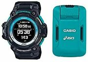 Casio G-shock Sport Gshock Asics Gps And Heart Rate Monitor Equipped Watch ...