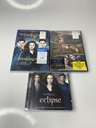 The Twilight Saga Breaking Dawn Part 1 And 2 And Twilight 3 Movie Setbrand New