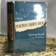 1949 George Orwell's Nineteen Eighty-four - 1st American Edition With Dj