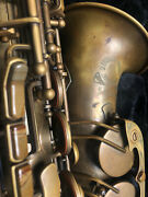 Cannonball Big Bell Stone Series Alto Saxophone Unlacquered Excellent Cond.