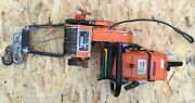 Stihl Ms660 Magnum Chainsaw/lewis Winch Plus 25andrdquo Bar And Chain