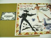Vtg Paper Doll Convention 1991 Mark Of Zorro With Tyrone Power By Barb Rausch