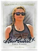 Erica Enders Signed 2016 Goodwin Champions Card Racing Star 35