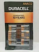 Duracell Coppertop All-purpose Aaa Alkaline Batteries 32 Pk Expires March 2030