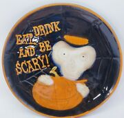 Yankee Candle Boney Bunch Plate Mark Cook Halloween Rare Eat Drink And Be Scary