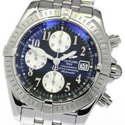 Breitling Chronomat Evolution A13356 Chronograph Automatic Menand039s Watch_643487