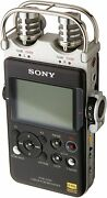 Sony Pcmd100 Portable High Resolution Audio/voice Recorder, Black New
