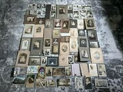 Huge Lot Of Antique Picture Photographs