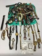 Large Lot Vintage Watches And Bands - Parts / Repair Seikojaz +++